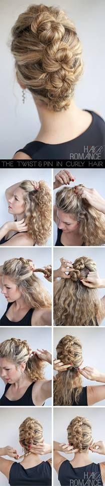 Twisty Hair Style