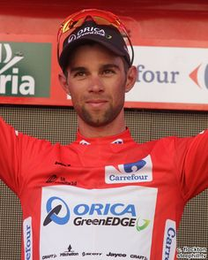 2014 vuelta-a-espana photos stage-04 - Race leader Michael MATTHEWS (ORICA GreenEDGE) now leads by 8s with the 4s of bonus time he earned today for his 3rd place finish