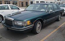 Lincoln Town Car - Wikipedia