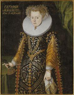 Elisabet, 1549-1597, prinsessa av Sverige, hertiginna av Mecklenburg  Gripsholm