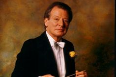 Sir Neville Marriner conducting the St. Martin's in the Fields Orchestra