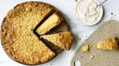 Toscakake - Oppskrift fra TINE Kjøkken Hummus, Tin, Bread, Baking, Ethnic Recipes, Food, Tin Metal, Bread Making, Patisserie