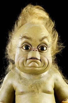 HOW THE GRINCH STOLE CHRISTMAS (2000) - Animatronic Baby Grinch Puppet - Price Estimate: $2000 - $3000