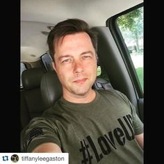 """""""#Repost @tiffanyleegaston with @repostapp. ・・・ #LoveUP military style! Get yours at loveupshirt.com and check out loveupevents.com for info and to…"""""""