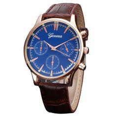Men's Retro Design Quartz Wrist Watch