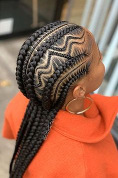 53 Box Braids Hairstyles That Rock - Hairstyles Trends Braided Cornrow Hairstyles, Feed In Braids Hairstyles, Braided Hairstyles For Black Women, African Hairstyles, Cool Hairstyles, Black Hair Braid Hairstyles, Hairstyle Ideas, Black Girl Braids, Braids For Black Hair
