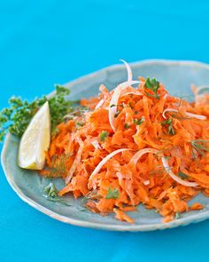 French Carrot Fennel Salad.  This sounds so fresh!  From Steamy Kitchen and from La Tartine Gourmande's new cookbook.