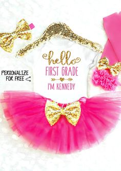 First Birthday Outfit Girl Pink and Gold Birthday Outfit Baby Girl Birthday Outfit Princess Cake Smash Outfit Girl Smash Cake Outfit Pink and Gold Birthday Tutu Outfit Princess Birthday 2nd Birthday Outfit, Gold Birthday, Birthday Tutu, 1st Birthday Girls, Birthday Cupcakes, 2nd Birthday Parties, Birthday Shirts, Birthday Ideas, Disney Birthday