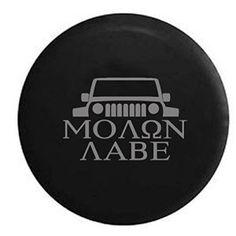 Jeep Grill Molon Labe Aabe Spare Tire Cover