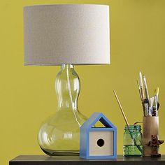 Gourd Table Lamp - Clear #WestElm