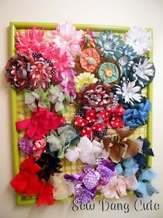 totally making this for all my flower clips... when they're not in my hair, they can be double as a bit of decoration