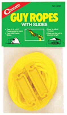 Coghlan's 8295 Guy Rope with Slides -- This is an Amazon Affiliate link. Continue to the product at the image link.
