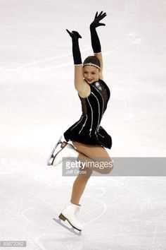 Elene Gedevanishvili of Georgia competes in the Ladies Short program during the 2009 ISU World Figure Skating Championships on March 27, 2009 at Staples Center in Los Angeles, California.