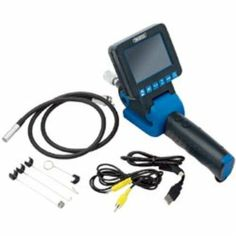 Draper 05162 Recording Flexi Inspection Camera with SD-HC Card Slot and 8.8 mm Diameter Camera Probe: Amazon.co.uk: DIY & Tools
