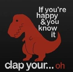 I don't know what it is about t-rex jokes that get me every time.