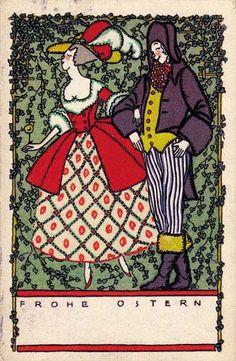 799. Fritzi Löw - Wiener Werkstatte postcard