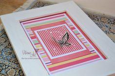 FramedArt   shabby chic butterfly scrapbooking by villemoart