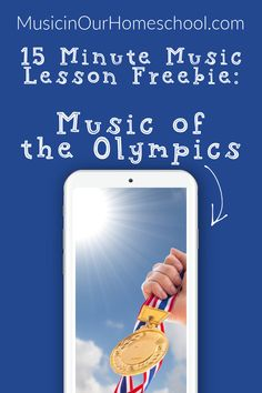 Do this FREE music lesson with your elementary students: Music of the Olympics 15-Minute Music Lesson. Learn about four pices/song and then when you hear them in the Olympics, you'll know them! Olympic Music, Music Activities For Kids, Music Courses, Piece Of Music, Teaching Music, Music Lessons, Music Education, Good Music, Homeschooling