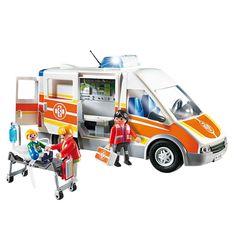 Playmobil Ambulance Playset - 6685, Multicolor