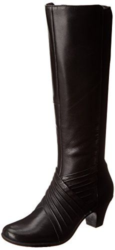 Rockport Cobb Hill Womens SydneyCh Harness BootBlack65 M US *** To view further for this item, visit the image link.