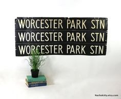 1950s Bus Roll Worcester Park England Vintage Black by Nachokitty