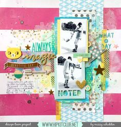Hip Kit Club DT Project - 2015 September Hip Kits - American Crafts Dear Lizzy, Amy Tan, Elle's Studio, Freckled Fawn, Crate Paper
