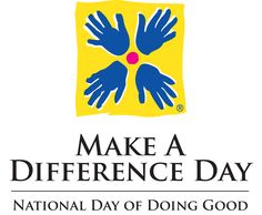Make a Difference Day (September 2013) http://makeadifferenceday.com