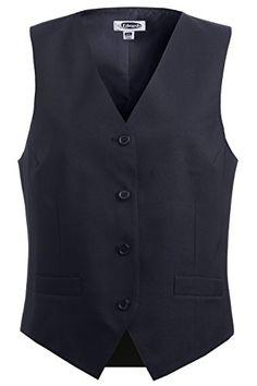 Ed Garments 7490 Womens Economy Vest  Dark Navy  XXLarge ** For more information, visit image link.