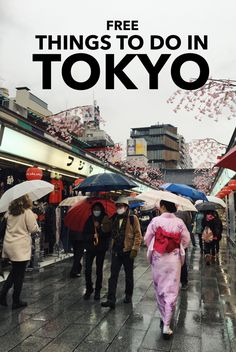 Tokyo doesn't have to be expensive!There are plenty of FREE things to do in Tokyo, Japan.From historical temples and epic observation decks to national museums and hidden gardens, Tokyo has it all!