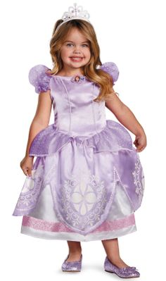 Disney Sofia the First Deluxe Toddler / Child Costume, 805387