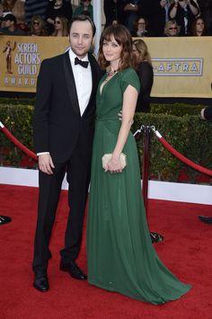 Vincent Kartheiser and Alexis Bledel On The SAG Awards RedCarpet