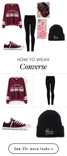 """""""Busy doing stuff"""" by tillysfashion on Polyvore featuring Wolford, Converse and Casetify"""