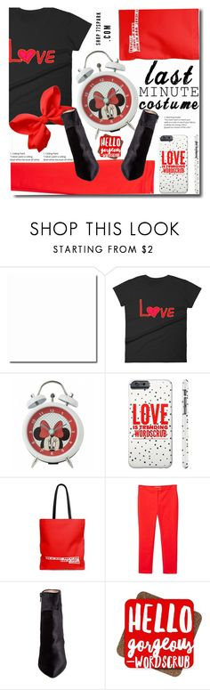 """""""Last minute style"""" by soks ❤ liked on Polyvore featuring Disney, MANGO and Betsey Johnson"""