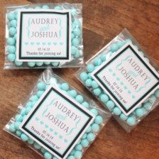 Wedding Favors, Gift Tags, Candy, Bags - Wedding Decorations