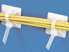 "3/4"" Natural Cable Tie Mounts by Uline. $17.00. Cable Tie Mounts - Keep cables bundled and organized. Adhesive backing sticks to walls and floors. Ties not included. Uline stocks a huge selection of Cable Tie Mounts, Cable Mount and Adhesive Cable Tie Mounts."