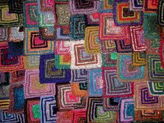 Ravelry: Patchwork Knitting pattern by Barbara Kerr and Hila Paldi Knitted Squares Pattern, Knitting Patterns, Blanket Patterns, Knitting Designs, Knitting Projects, Patchwork Blanket, Cooling Blanket, Yarn Inspiration, Knitted Throws