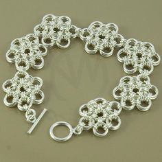 lovely chain maille bracelet