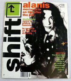 Shift Music Magazine May 1997 Alanis Morissette Dracula Floria Sigismondi RARE My Magazine, Magazine Covers, Proto Punk, Alanis Morissette, Independent Music, Music Magazines, Cover Model, Dracula, Rock Music