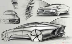 2015 Frankfurt Motor Show: Mercedes-Benz Unveils 'Concept IAA' Auto Design, Design Autos, Automotive Design, Mercedes Benz G, Benz S, Car Design Sketch, Car Sketch, Mercedes Concept, Automobile