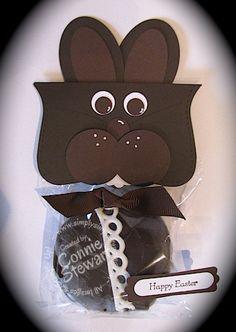 Chocolate Easter Bunny cupcake