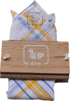 #0099 / Dcoy {cute vintage pocket squares!}
