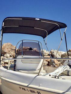 Embarcación de recreo Saver 560 open con toldo bimini Carvid marine 4 arcos Aluminio. Disponible en nuestra web: www.carvidmarine.com Shopping, Budget