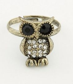 I found 'Bronze Korean Fashion Owl adjustable Ring 10011749-178' on Wish, check it out!