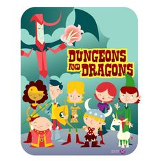 Cartoon & Co - Dungeons & Dragons