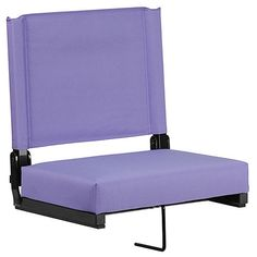 Flash Furniture Outdoor Purple Fabric Padded Bleacher Folding Chair at Lowe's. Love your team but hate those bleachers? Ever feel like you're the one who got tackled when the game's over? Now there's a better way! Watch the game from Stadium Chairs, Stadium Seats, Chair Pads, Chair Cushions, Bleacher Seating, Lawn Chairs, Room Chairs, Purple Fabric, Cozy Place