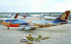 Singapore Airlines. Wonderful livery