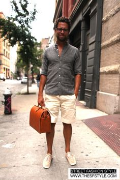 Relaxed Yet Stylish Shorts Outfits For Men0401