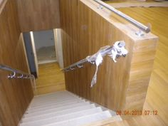 uitbekleden trap met Tapis stroken te Brussel door heylen & Co