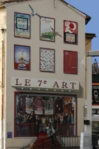 Murs peints - Mairie de Cannes