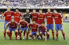 EQUIPOS DE FÚTBOL: REAL ZARAGOZA contra Valencia 30/10/2010 Liga de 1ª División